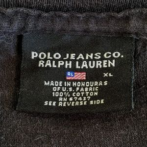 Polo by Ralph Lauren Shirts - 90's Vintage Polo Jeans Co. Ralph Lauren Tee